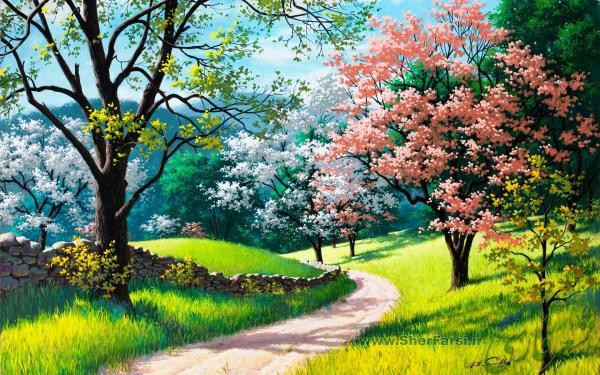 طبیعت بهاری